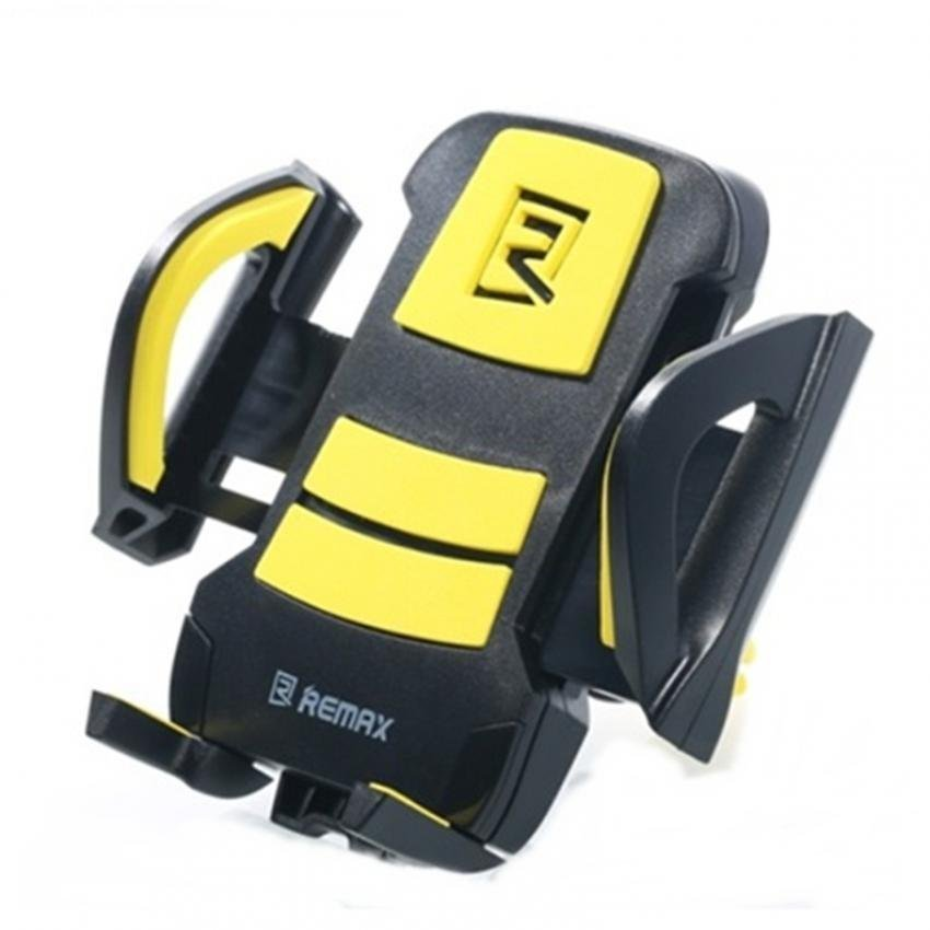 Remax Air Vent Smartphone Holder - RM-C03 - Hitam/Kuning