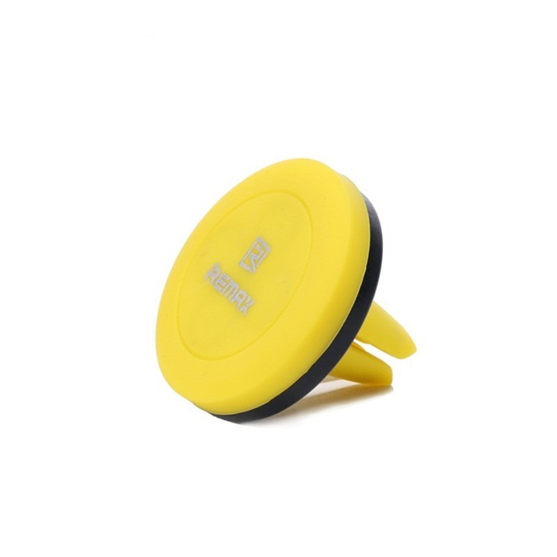 Remax Air Vent Smartphone Holder - RM-C10 - Hitam/Kuning