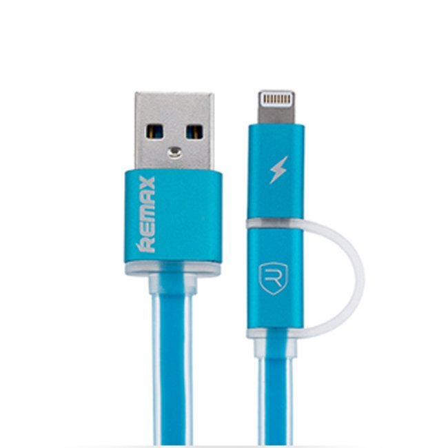 Remax Aurora High Speed USB Charger Data Sync Cable For iPhone and Android