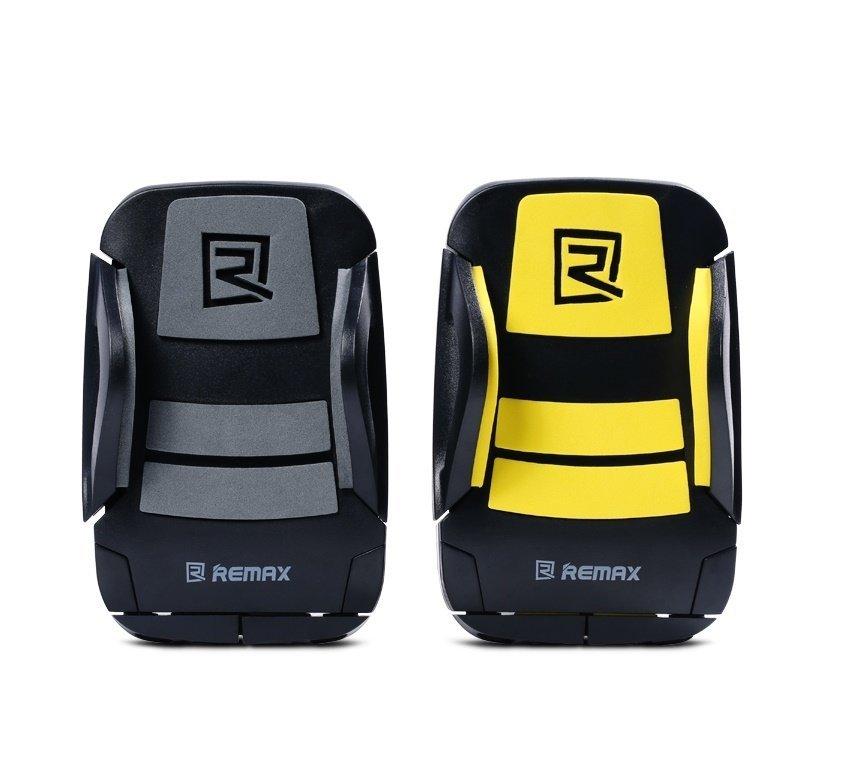 Remax Bicycle Smartphone Holder - RM-C08 - Hitam-Kuning