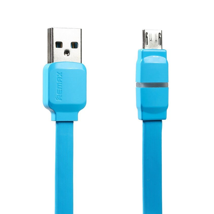 Remax Breathe Micro USB Data Cable for Smartphone - RC-029m - Biru