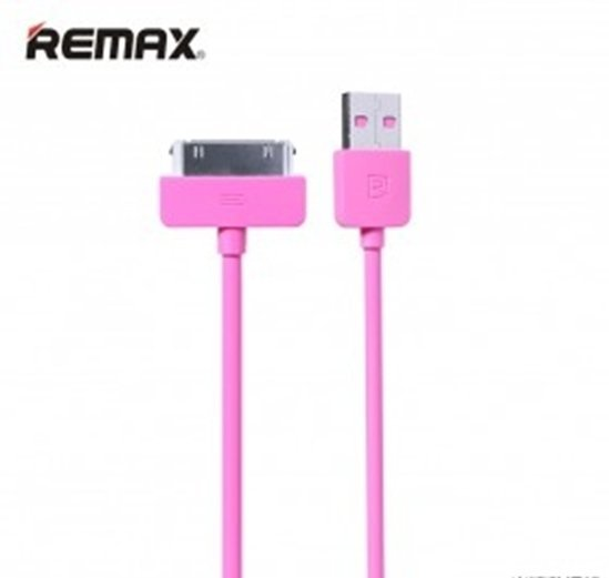 Remax Cable Light Speed for iPhone 4 - Pink