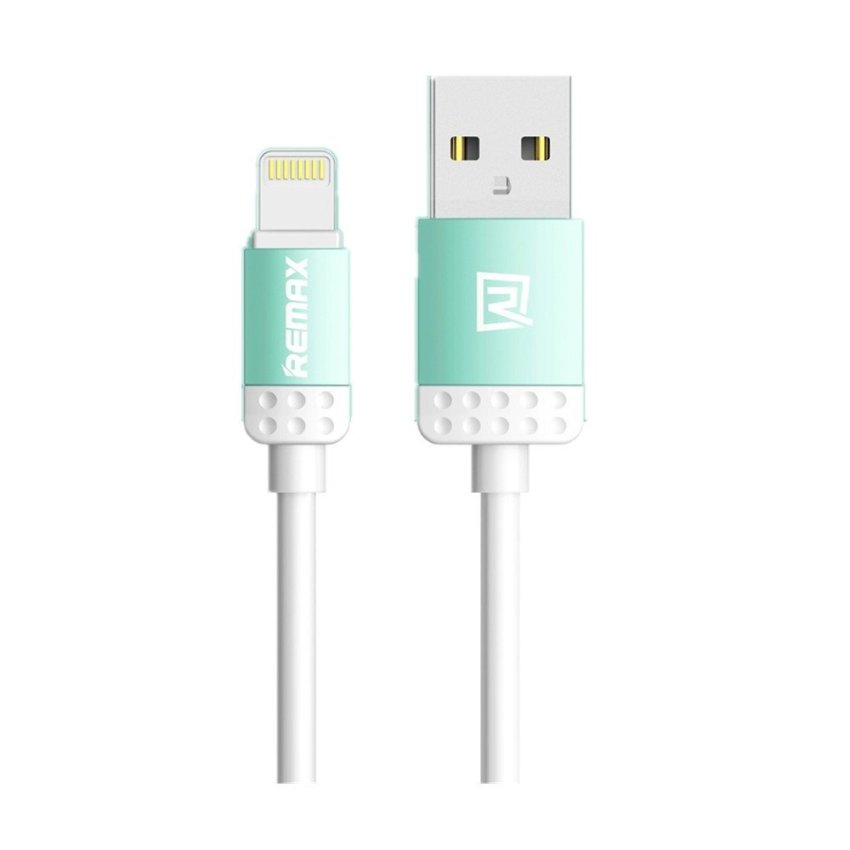 Remax Cute Color USB Data Cable Cord for iPhone 6 / 5(Green) (Intl)
