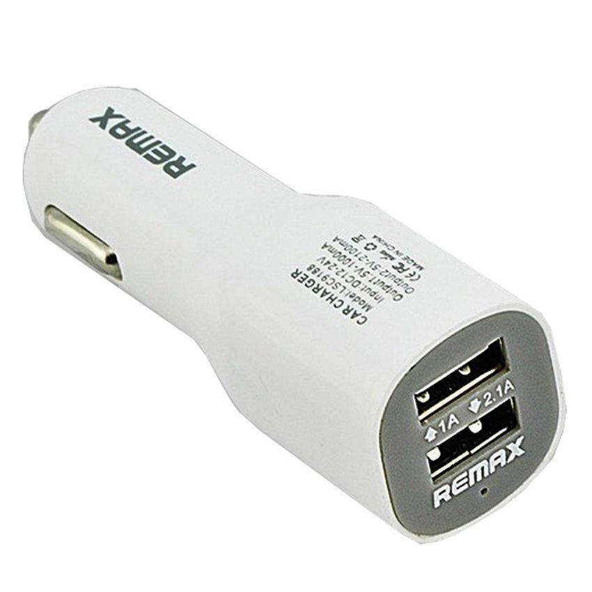 Remax Duck Shape USB Car Charger 2 Port 5V 2.1A