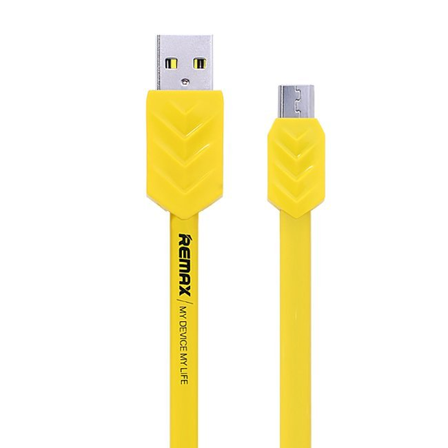 Remax Fishbone Cable Micro USB - Kuning