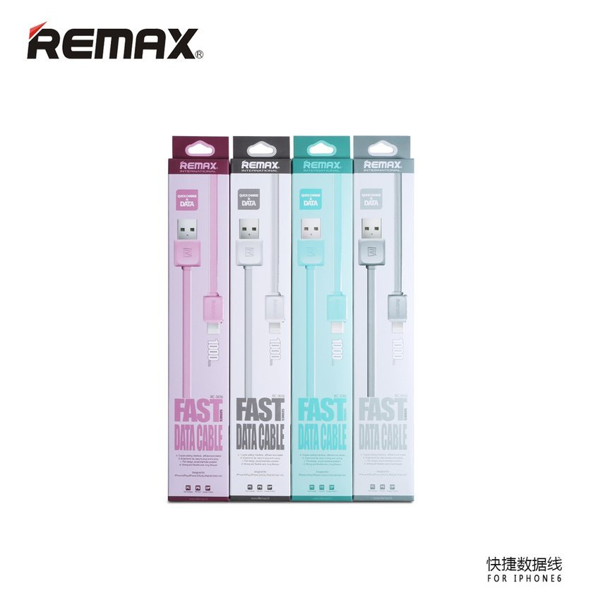 Remax Fleet Speed Lightning Cable for iPhone 6/6+/5/5s - Putih
