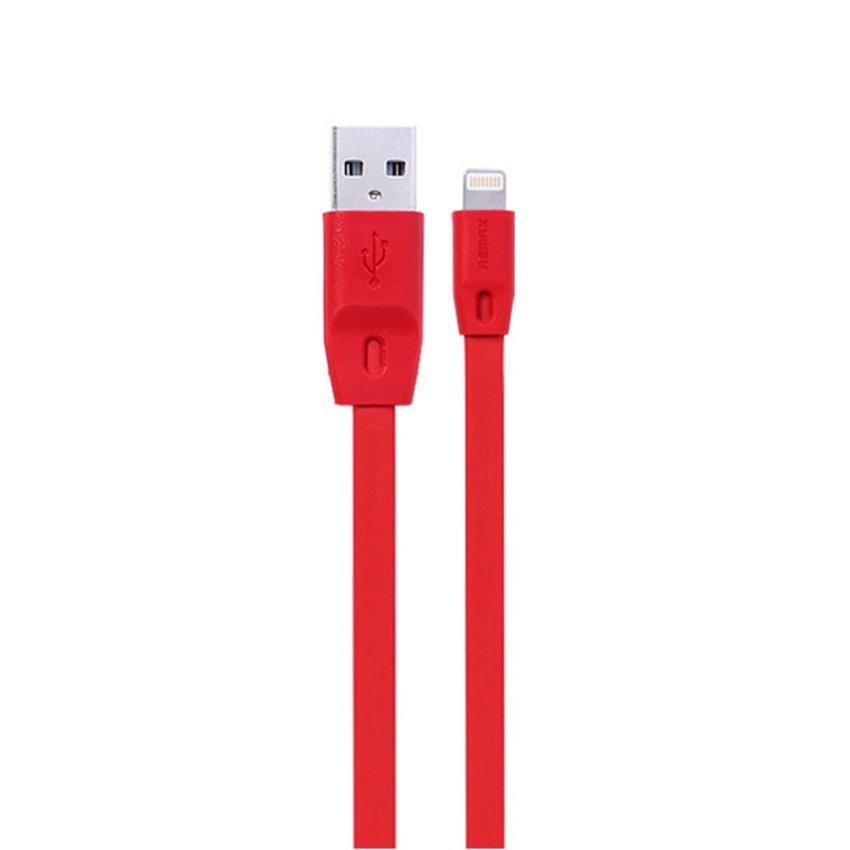 Remax Full Speed Cable 2000mm iPhone 5/6 iPad Mini / Air - Lightning Kabel Data - Merah