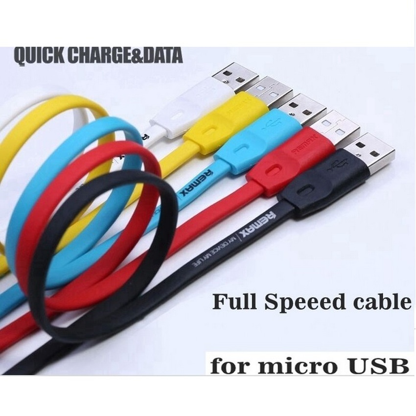 Remax Full Speed Micro USB Cable 1m for Smartphone - Hitam