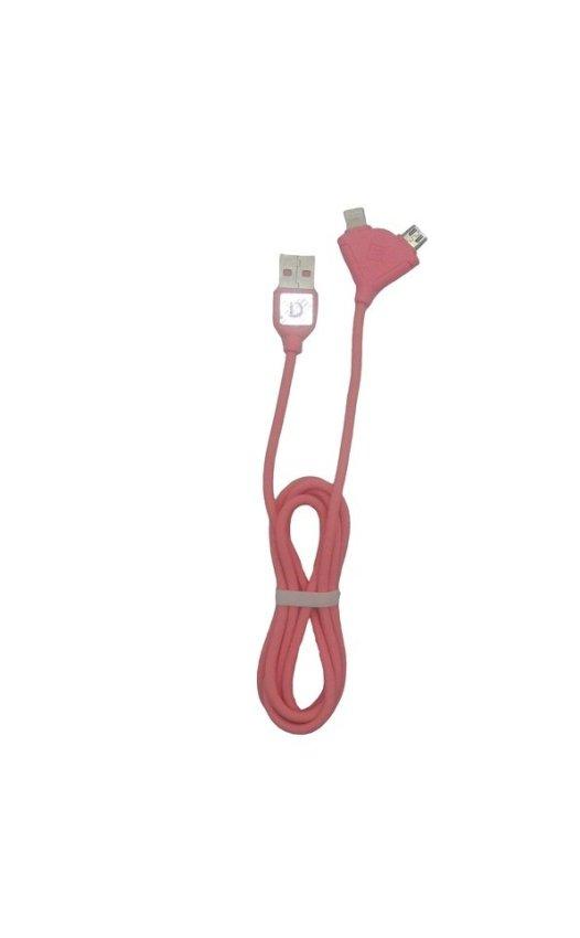 Remax Kabel Souffle - Pink