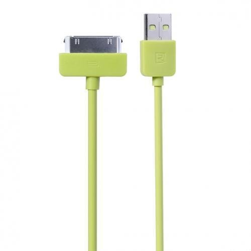 Remax Light Speed 30 Pin Apple Cable for iPhone 4/4s - Hijau