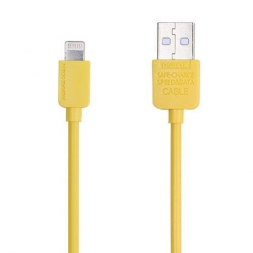 Remax Light Speed Lightning Cable 1.5m for iPhone 6/6+/5/5s - Kuning