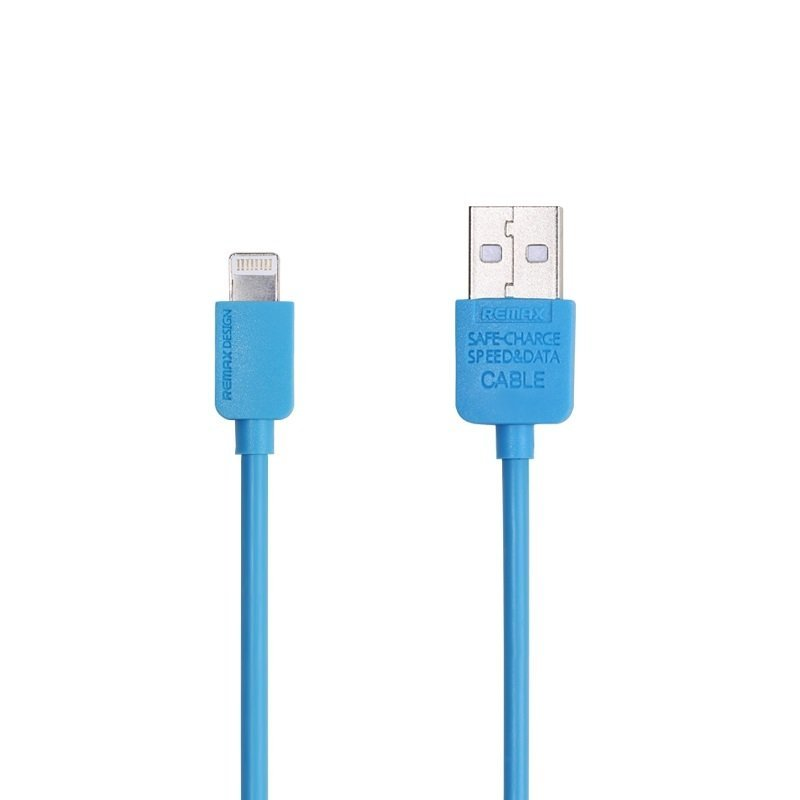 Remax Light Speed Lightning Cable 1M For Iphone 6-6+-5-5S - Biru