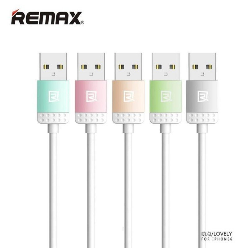 Remax Lovely Cable Kabel Data & Charger Micro USB - Gold