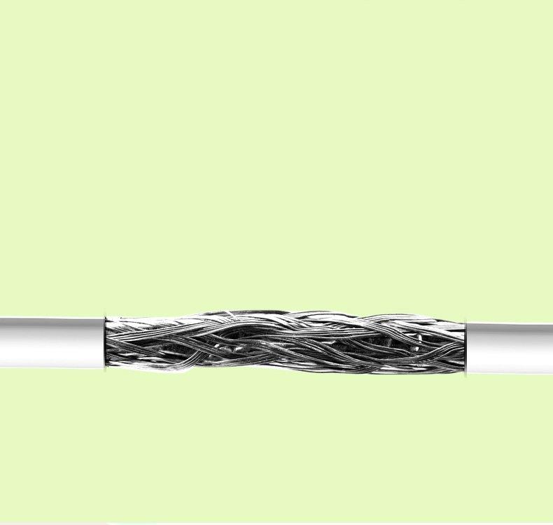 Remax Lovely Kabel Data untuk iPhone 5/6 Apple Lightning Cable - Abu-abu
