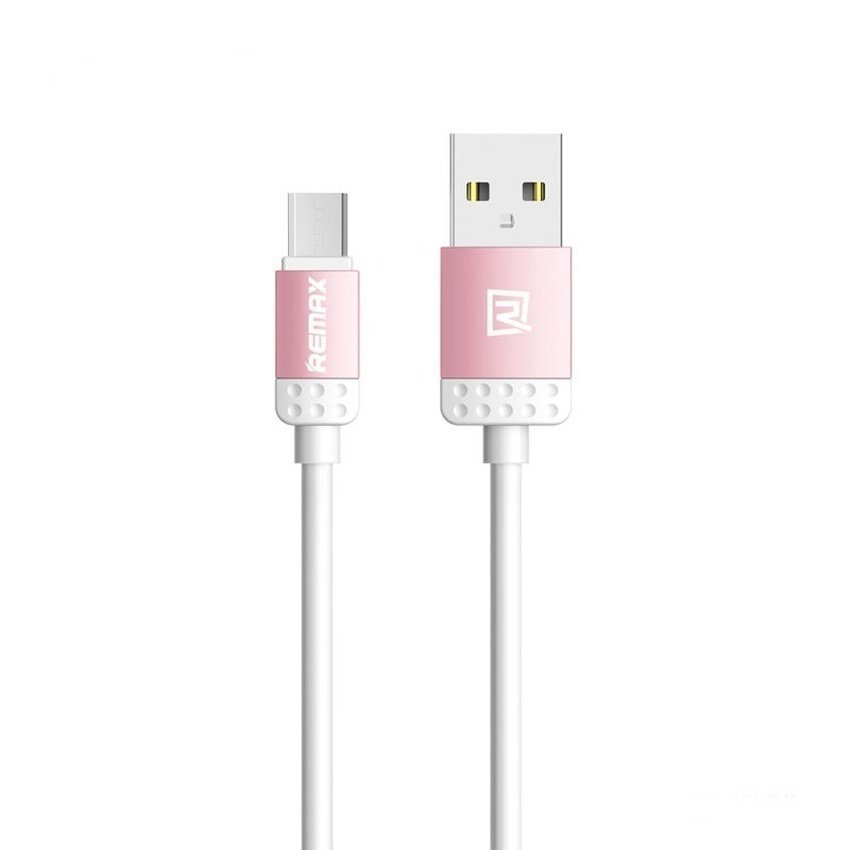 Remax Lovely USB Cable Data Micro  - Pink
