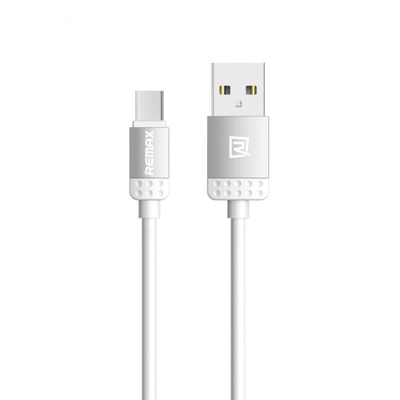 Remax Micro USB Cable for Smartphone - Abu-abu