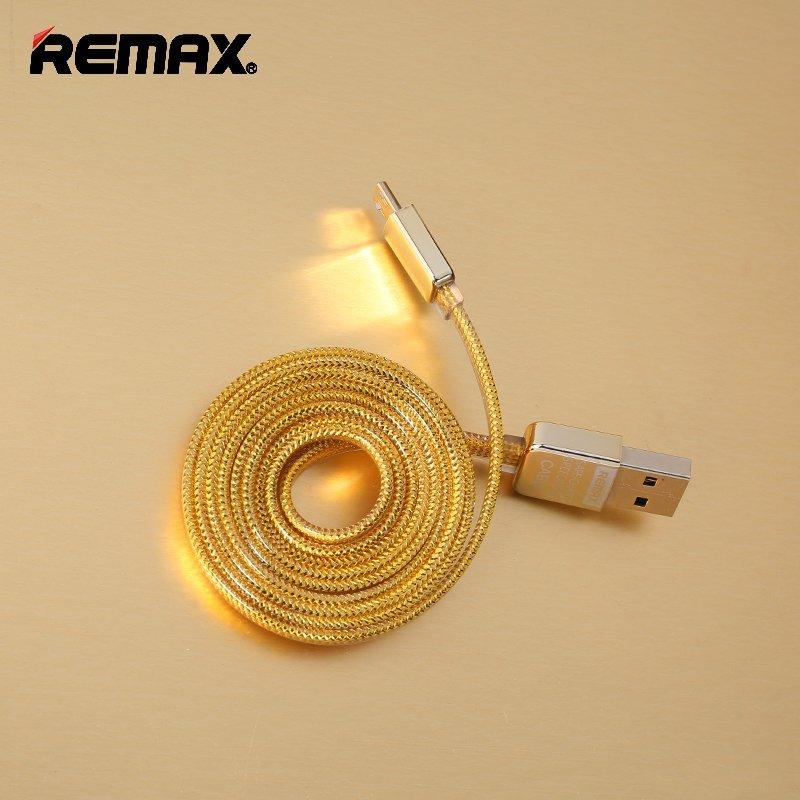 Remax Micro USB Cable Kingkong Data Cable - Gold
