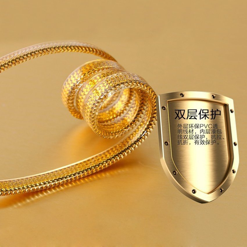 Remax Micro USB Special Edition Gold Cable - Gold