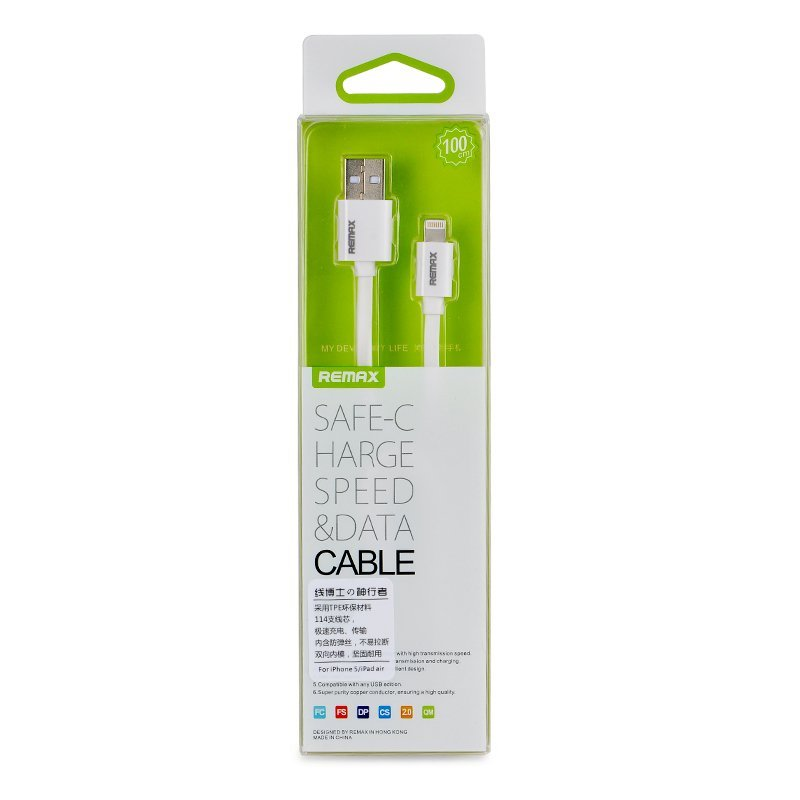 Remax USB Safe Charge Speed & Data Cable - Putih