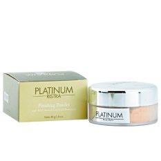 Ristra Platinum Finishing Powder Soft Honey Beige 02 40g