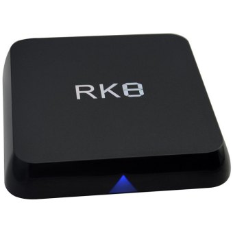 RK8 TV Box Android 5.1 Octa-core RK3368 CPU 2GB RAM 8GB ROM HDMI 2.0 Bluetooth 4.0 With 2.4GHz / 5.8GHz Dual Band WiFi - US PLUG (BLACK)