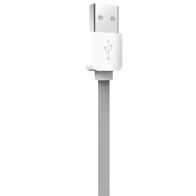 Rock 1m Lightning quick charging usb cable sync data line for iPhone 5/5s/6/6plus / iPad device (Grey) (Intl)