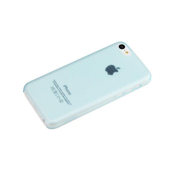 Rock Texture - Iphone 5C - Transparan / Biru