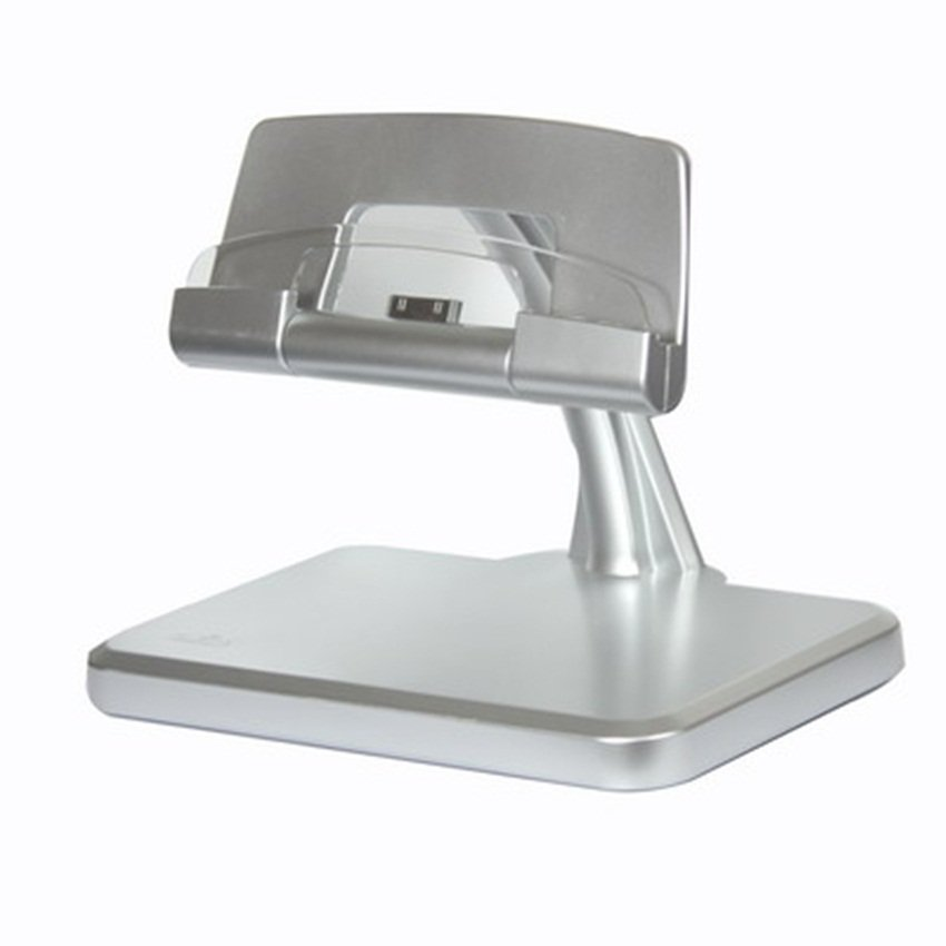 Rota New Rotational Charger Stand for iPad 2 & iPad - Silver