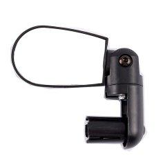Rotate Cycling Bicycle Bike Handlebar Rear View Rearview Mirror (Black)