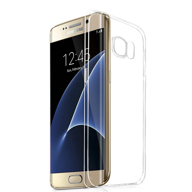 Roybens 0.3mm Ultra Thin Transparent TPU Soft Silicone Case Cover For Samsung Galaxy S7 Edge (Clear) (Intl)
