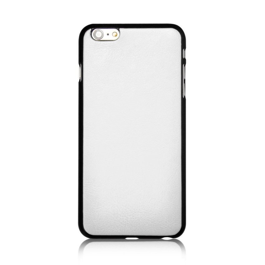 Roybens Leather 9 Card Slot Wallet Magnetic Detachable Flip Stand Cover for iPhone 6/6S White (Intl)