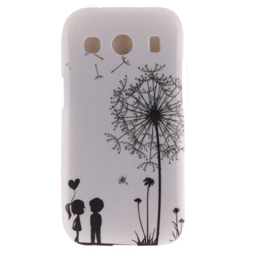 RUILEAN Pattern Soft Gel TPU Durable Silicone Case Cover for Samsung Galaxy Ace 4 SM-G357 SM-G357FZ -No.3