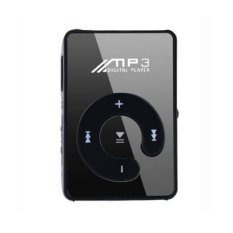 S & F GETEK 8GB SD TF Card Mini Mirror Clip USB Digital Mp3 Music Player (Black) - Intl