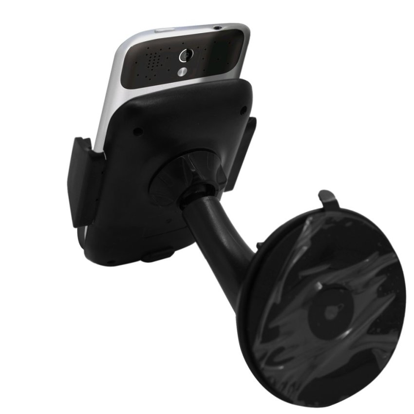 Samrick Specially Made To Measure 360 Degree Rotation Car Windscreen/Dashboard Mount/Holder With One-Step Mounting Technology for HTC Legend (Black) (Intl)