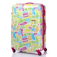 [SAMSONITE] HS MV+Luggage Bag 79/29 EXP_WHITE/MULTI LANDMARK (31T72003) (single option)