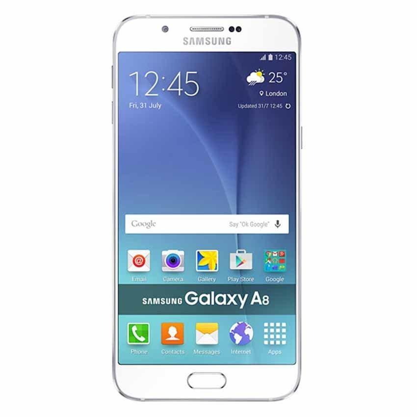 Samsung Galaxy A8 Dual SIM - 32 GB - Putih