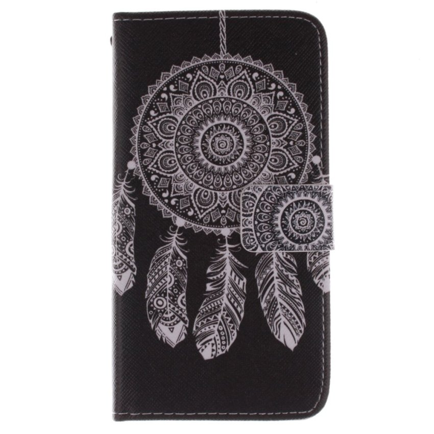 Samsung Galaxy Grand Prime G530H Moonmini PU Leather Flip Case Cover Protector Wallet (Dream Catcher)