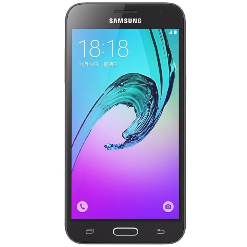 Samsung Galaxy J3 2016 - LTE - Hybrid - 8GB - Black