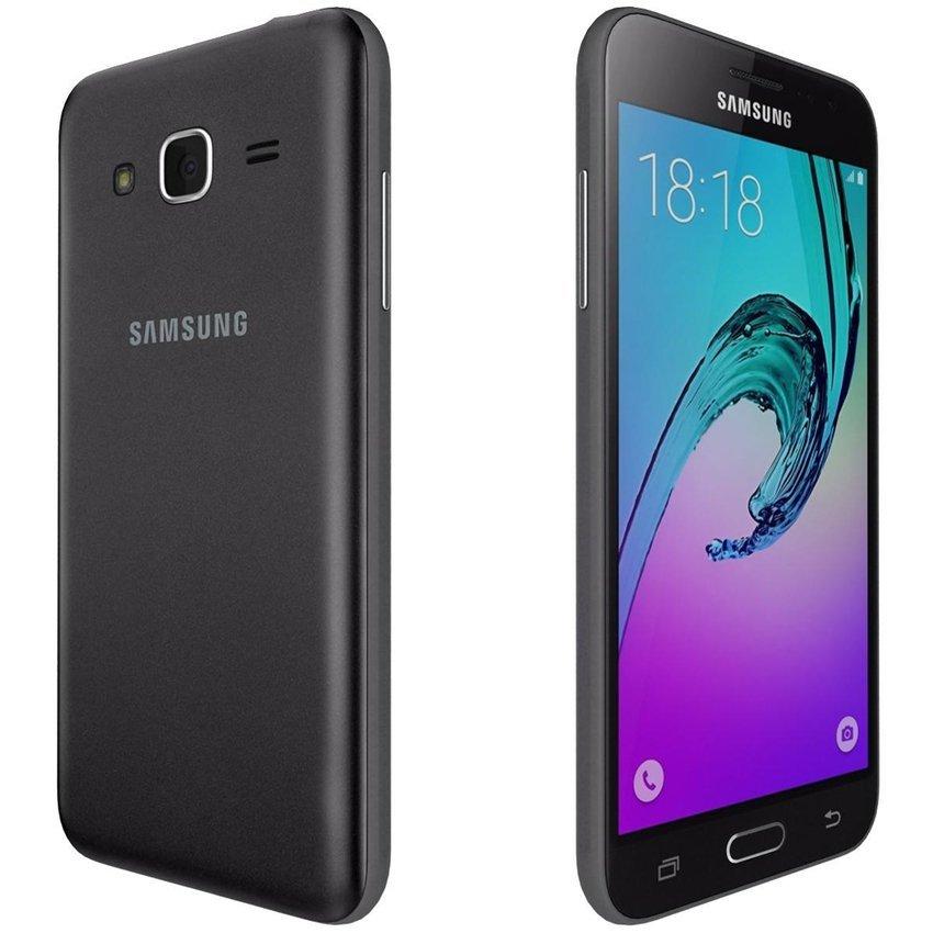Samsung Galaxy J3 2016 - LTE - Hybrid - 8GB - Hitam