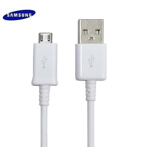 Samsung Kabel Data Charger Micro USB for Samsung Galaxy Note 4 - Putih