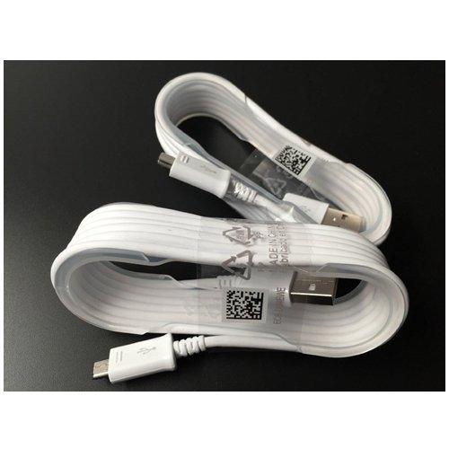 Samsung Kabel Data Charger Micro USB for Samsung Galaxy Note 4 - Putih