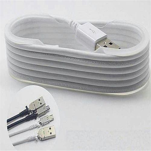 Samsung Kabel Data Micro USB untuk Samsung Note 4 - 1.5 meter - Putih
