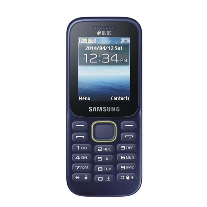 Samsung Keystone 3 B109E - Hitam-Biru
