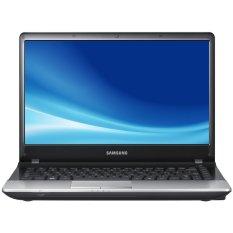 "Samsung NP300E4X-A06ID Dos Titan/Silver - 14"" - 320 GB + Kartu Promo Internet Intel - Telkom + Travel Time SL1504 Tas Laptop - Hitam"