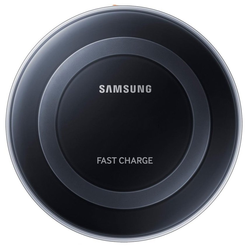 Samsung Qi Pad Wireless Charging Fast Charge Note 5 - Hitam