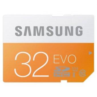 Samsung SDHC EVO Class 10 (48MB/s) 32GB - MB-SP32D - Orange