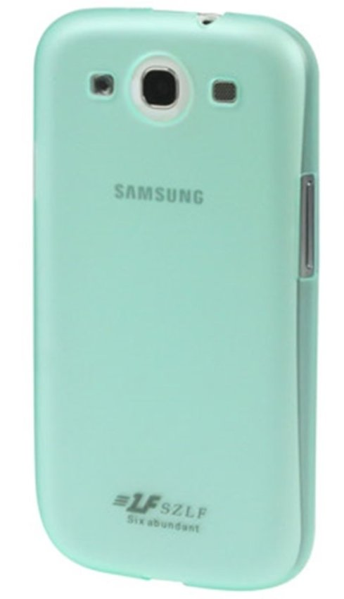 Samsung Ultra Thin Polycarbonate Translucent Protective Shell for Samsung Galaxy SIII / i9300 - Hijau Muda