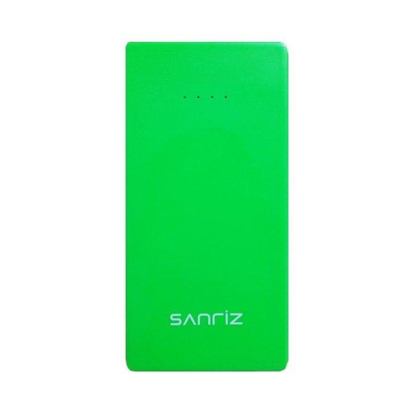 Sanriz Power Bank Super Slim Body Vacum - 5600 mAh - Hijau