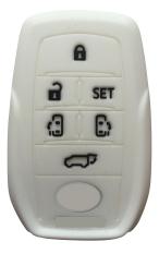 Sarung Kunci Silikon for Toyota All New Alphard - Putih