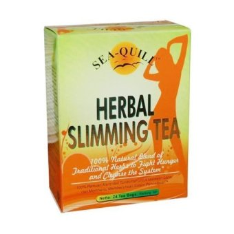Sea Quill Herbal Slimming Tea-24 tea bag | Lazada Indonesia